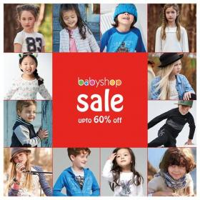 Babyshop Pakistan SALE is here! Up to 60% off on EVERYTHING