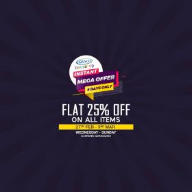 06ba6ca718 Graco babyshop 5 Days Instant Mega Offer! flat 25% off on all items ...