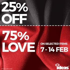 Ideas By Gulahmed Valentines Day Sale Flat 25 Off Till 14th Feb