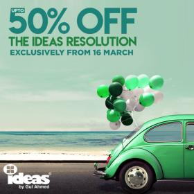 Gul Ahmed Ideas Pakistan Day Sale! Upto 50% off starting from 16th