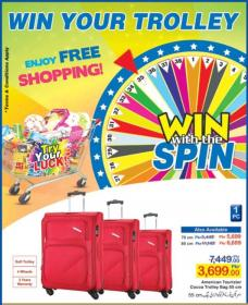 Hyperstar Win With Spin Leaflet With Promotions (19th Oct