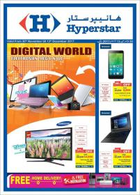 Hyperstar Digital World Electronics Mega Sale (30th Nov till