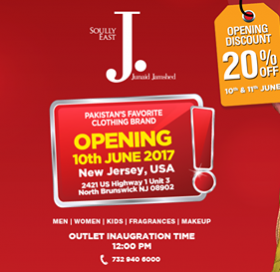 Junaid Jamshed Clothing Store In Usa