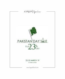 2561f8271c2 LOGO Shoes Pakistan Day Sale with FLAT 23% OFF From 22-25 March ...