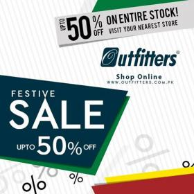 5e8a1bfa726 Outfitters announces its sale up to 50% discount on our entire stock  commencing from 26th August 2016