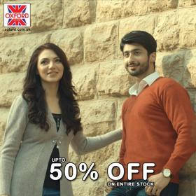 Oxford Store Winter Clearance Sale With up to 50% Off on