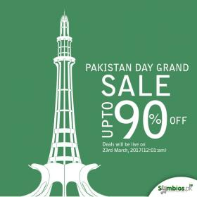 Symbios pk Pakistan Day Sale Upto 905 OFF (Start 23rd March 2017