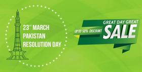 Itwaarbazaar pk Pakistan Day Sale Upto 50% OFF (23rd to 26th march