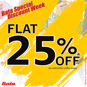 e66c467d70c Bata Discount Week - Get flat 25% off at Bata. Sale is across all stores in  Pakistan. You can also order online or shop from their outlets.