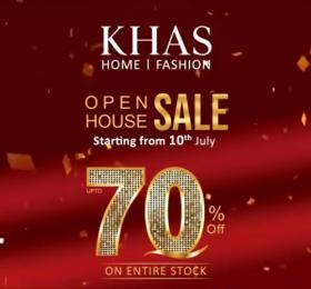 Khas Store Upto 70 Off Open House Sale Valid Till Stock